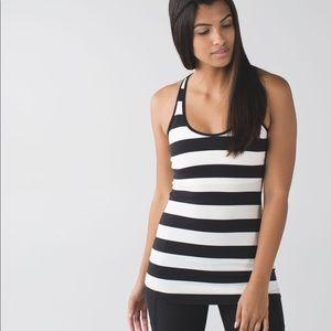 Lululemon Cool Racerback Tank Top - Stripes